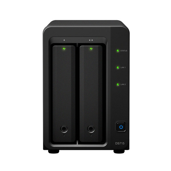 NAS Synology DiskStation DS715 Diskless