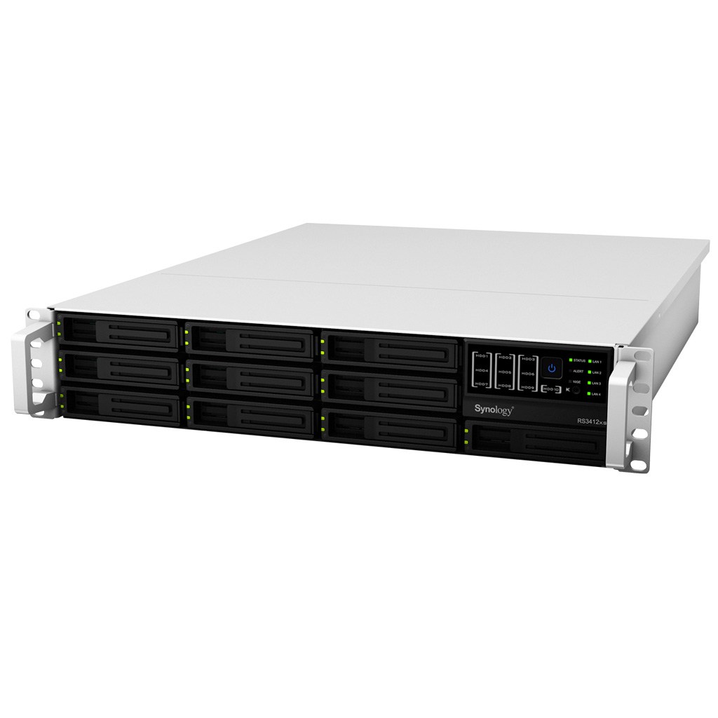 NAS Synology RackStation RS3412RPxs Diskless