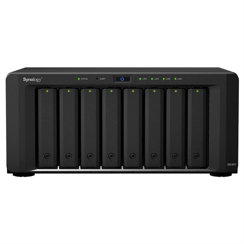 NAS Synology DiskStation DS1817+ 8GB Diskless
