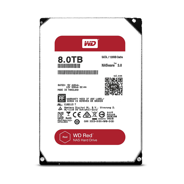 Western Red 8TB WD80EFZX