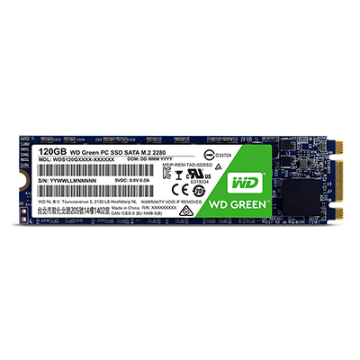 SSD WD Green M2 SATA 120GB