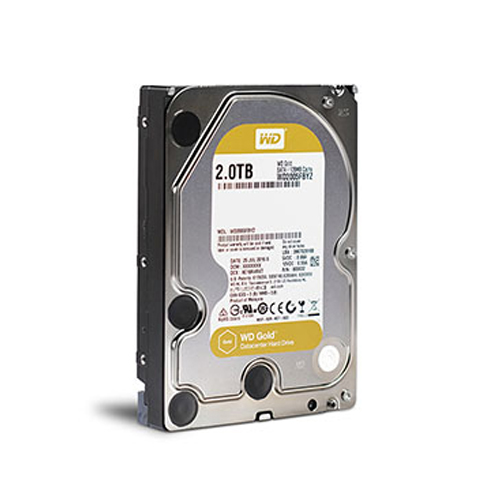 O cung WD Gold 2TB WD2005FBYZ cho Server - Datacenter