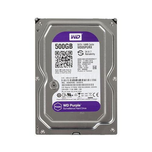 WD PURPLE 500GB