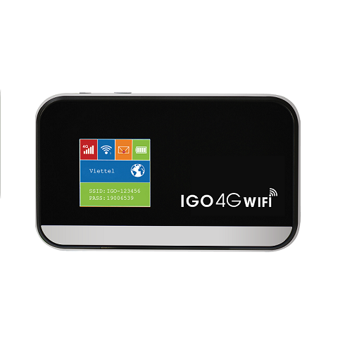 Bo phat Wifi 4G Model IGO A368