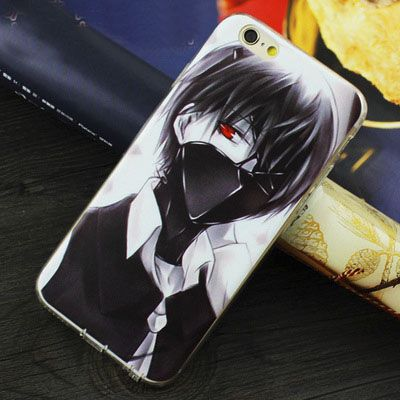 Ốp lưng trong suốt Tokyo Ghoul - iPhone 4/5/6/6plus/7/7plus
