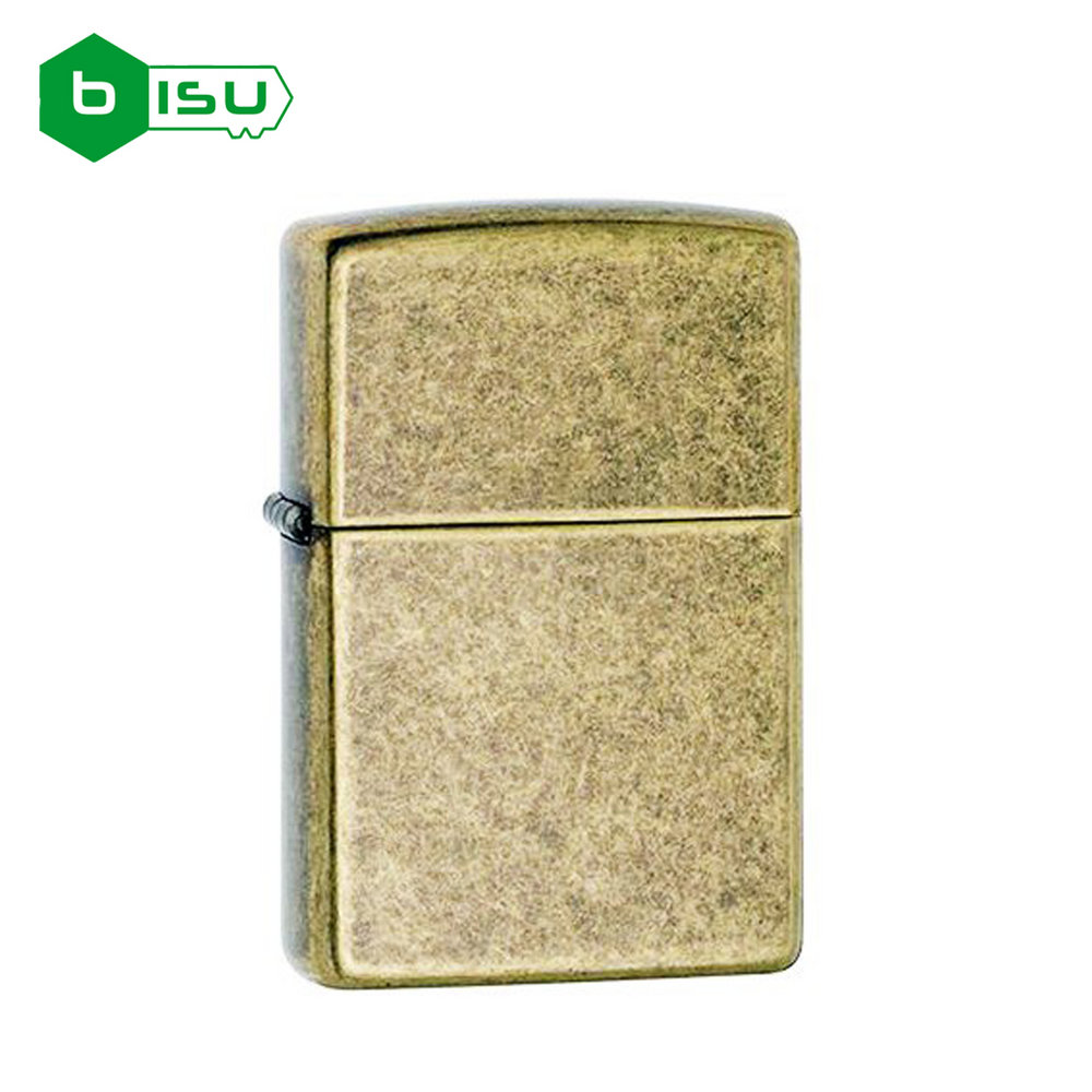 Zippo 201FB - Vỏ Đồng Cổ - (Antique Brass Lighter)