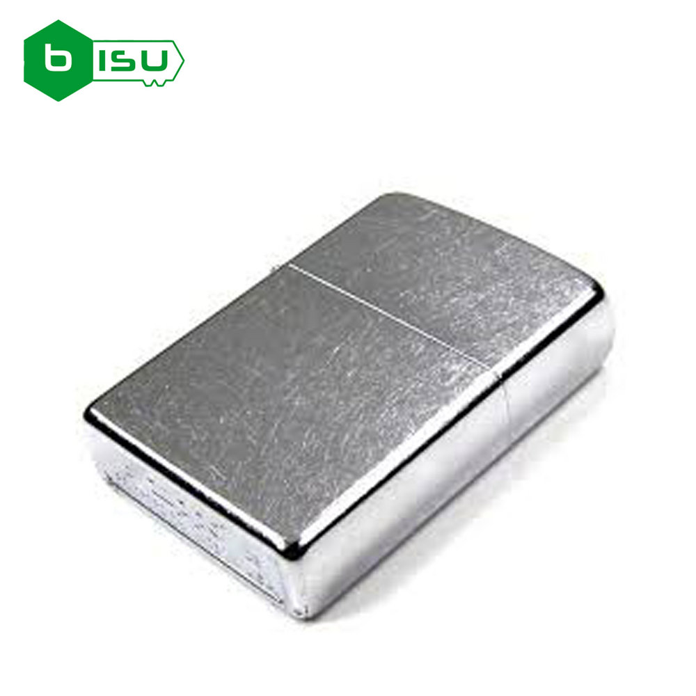 Zippo 207 - Vỏ Chrome Xước lẫn (Street Chrome Pocket Lighter)