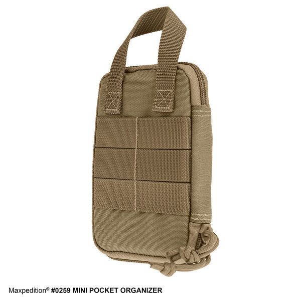 Maxpedition - Túi Mini Pocket Organizer (màu Đen, Khaki - 0259)