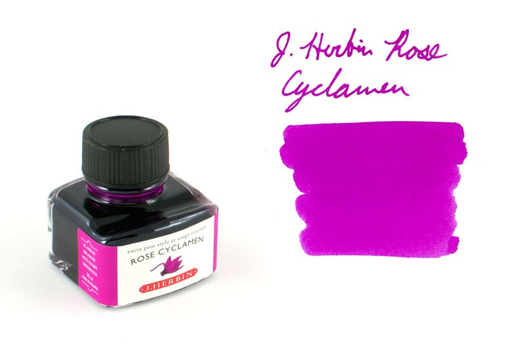 Mực J.Herbin French - 30ml - No.66 - Màu tím hồng (Rose Cyclamen)