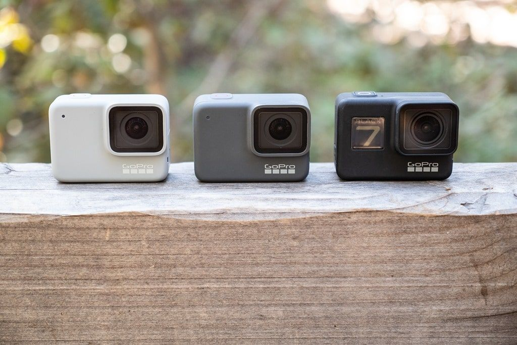So sánh Gopro Hero 7 Black - Silver - White
