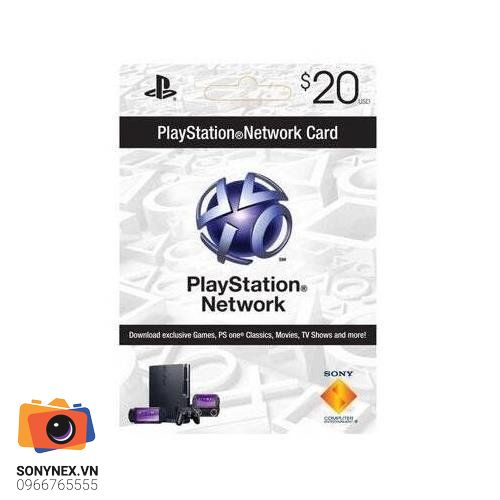 Thẻ PSN 20 USD | Digital Key