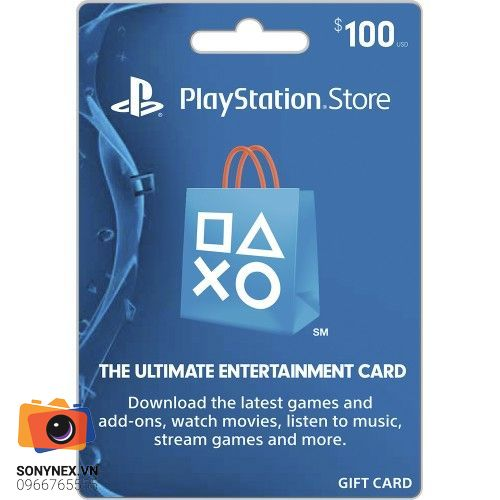 Thẻ PSN 100 USD | Digital Key