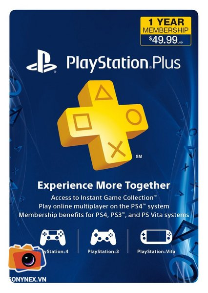 Thẻ PSN Plus Gold Member 1 năm | Digital Key