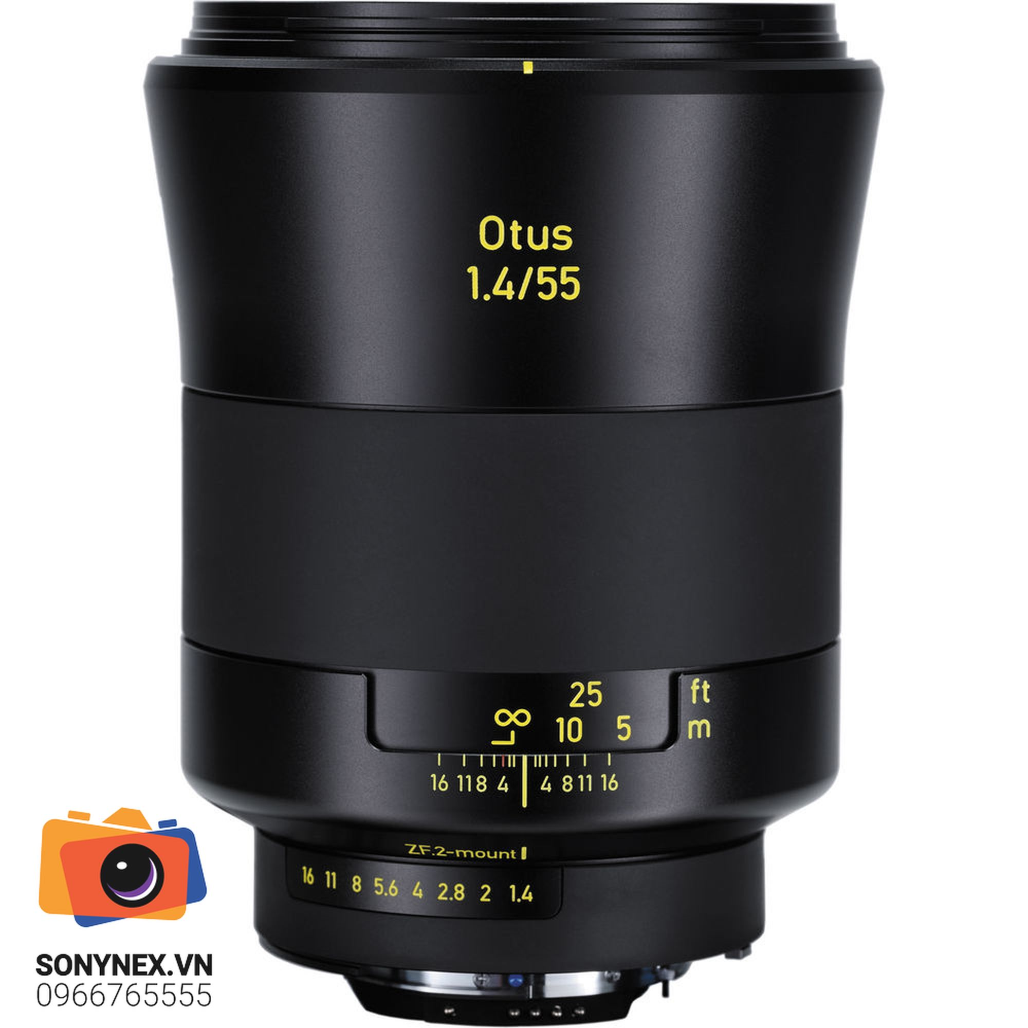 Zeiss 55mm f/1.4 Otus Distagon T* Lens for Nikon F Mount | Chính hãng