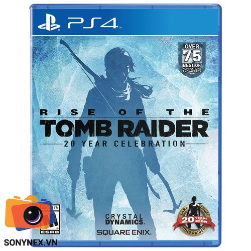 Rise of the Tomb Raider: 20 Year Celebration | Đĩa game PS4 | US
