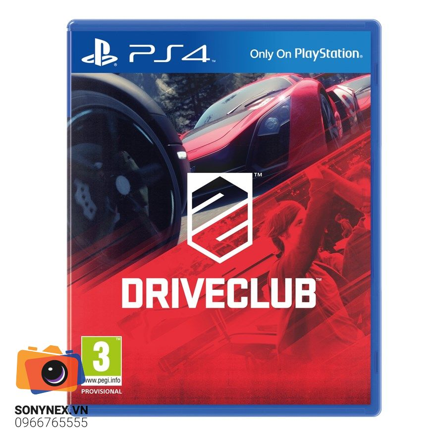 DriveClub Limited Edition | Đĩa game Sony PS4 | US