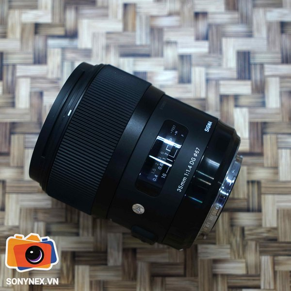 Sigma 35 1.4 Art | Used (for Sony A-Mount) | ShirrorVN