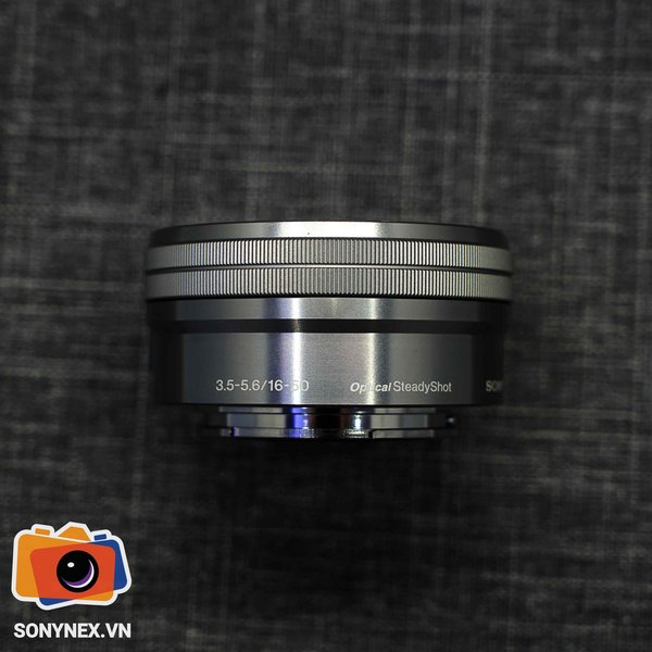 Lens Sony E PZ 16-50mm F3.5-5.6 | Bạc | Used