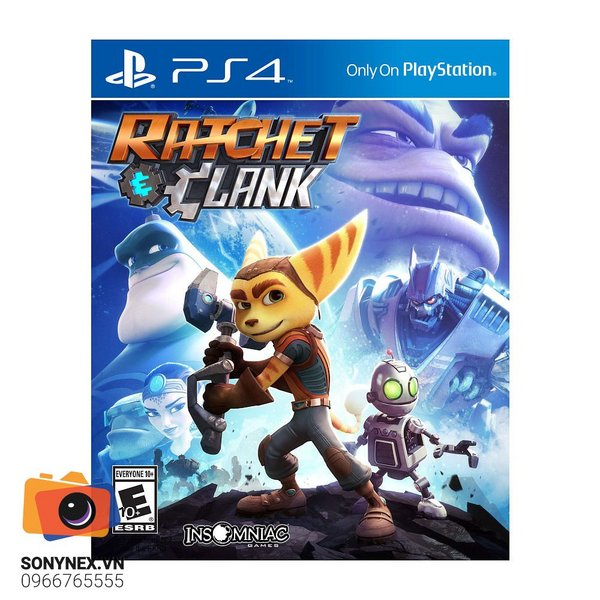 Ratchet & Clank | Đĩa game Sony PS4 | US