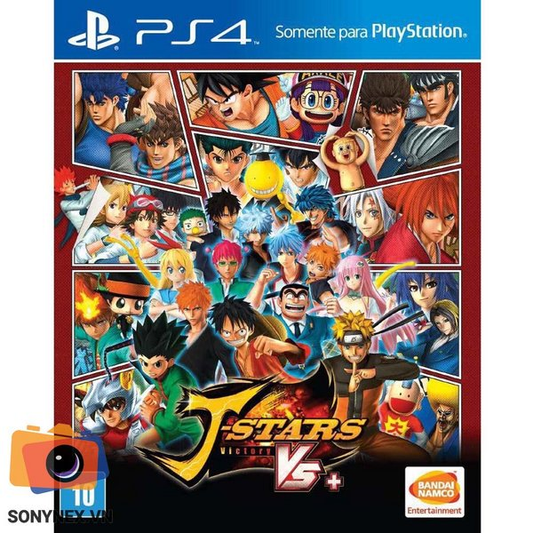 J-Stars Victory Vr+ | Đĩa game PS4 | US