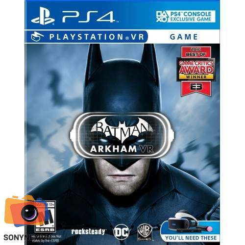Batman™: Arkham VR | Đĩa game PS4 | US