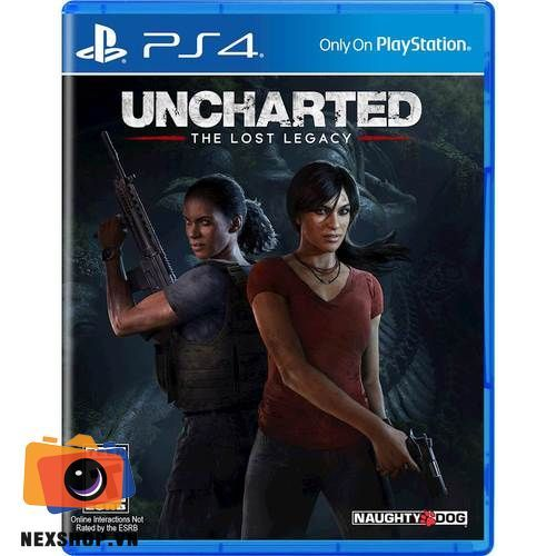 Uncharted The Lost Legacy | Đĩa game Sony PS4 | Chính hãng