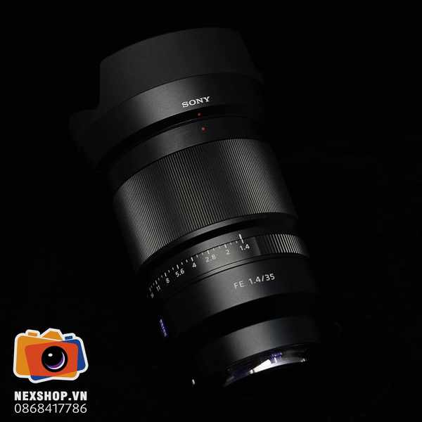 Lens Sony FE 35mm F1.4 | Tặng kèm Filter T* | Used