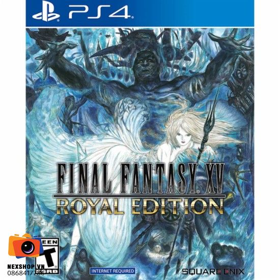 Final Fantasy XV Royal Edition | Đĩa Game PS4 | Asia