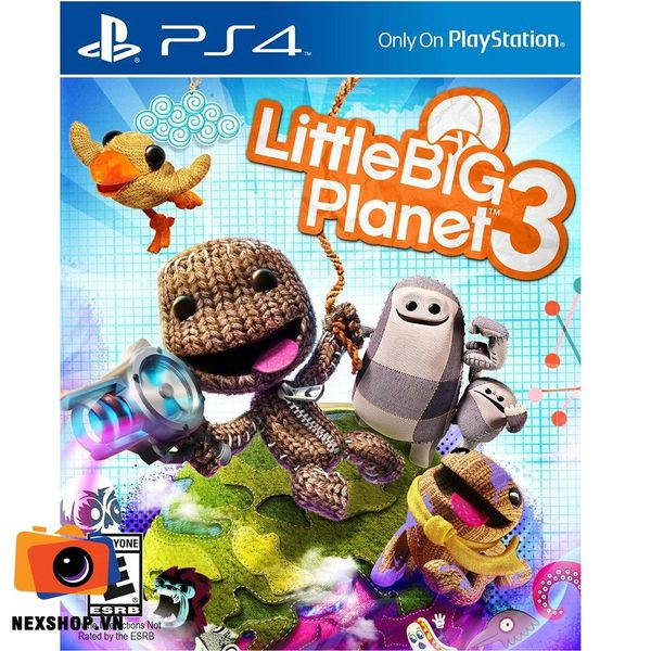 Little Big Planet | Đĩa game PS4 | US