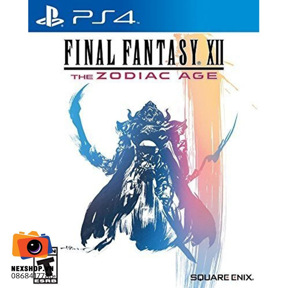 Final Fantasy XII The Zodiac Age | Đĩa game PS4 | Chính hãng (Asia)