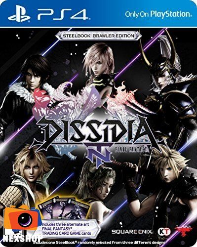 Dissidia Final Fantasy NT Steelbook Brawler Edition | Đĩa Games PS4 | Hệ US