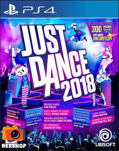 Just Dance 2018 | Đĩa game PS4 | US
