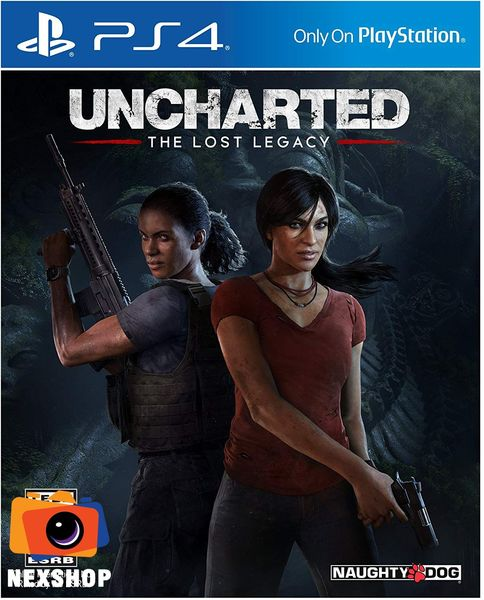 Uncharted: The Lost Legacy | Đĩa game Sony PS4 | Hệ US