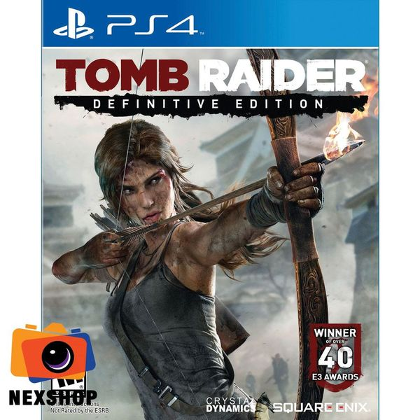 Tomb Raider: Definitive Edition | Đĩa game Sony PS4 | US