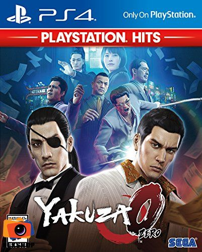 Yakuza 0 - Playstation Hit | Đĩa game PS4 | US