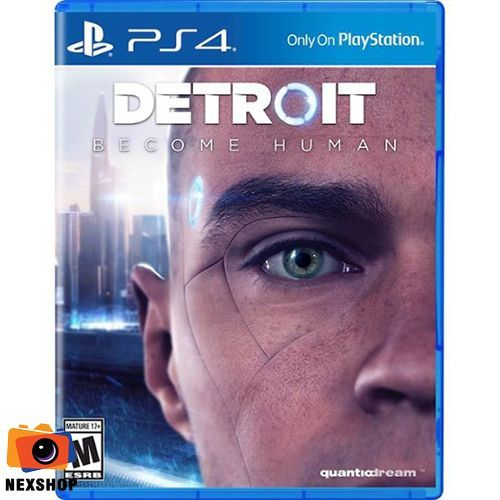 DETROIT: Become Human Plastation Hit | Đĩa Game PS4 |