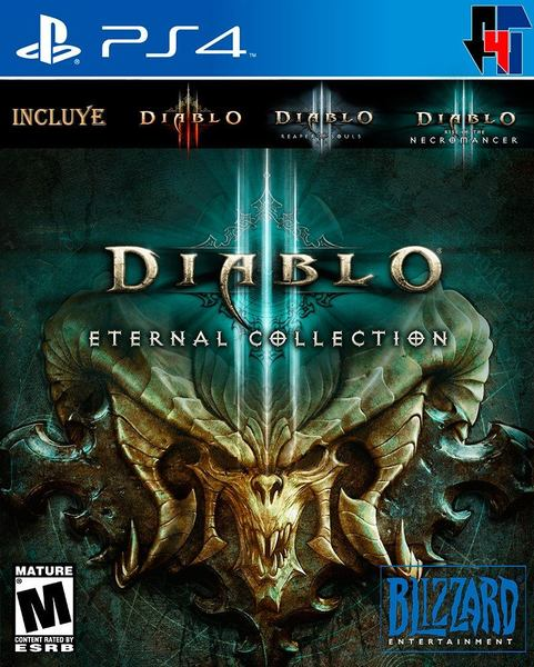 Diablo Eternal Collection | Đĩa game PS4 | US