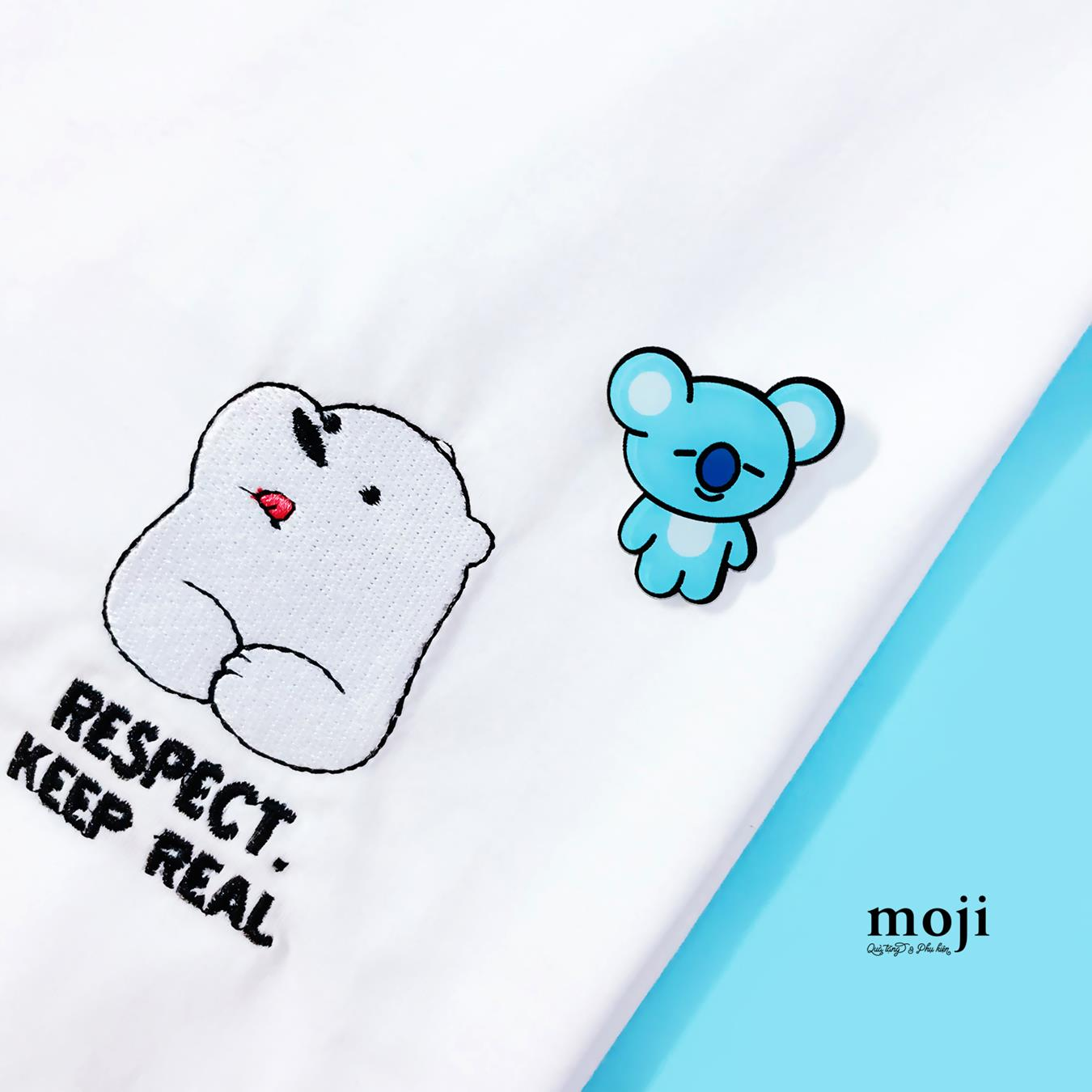 Huy hiệu BT21 KOYA Rap Monster BTS idol