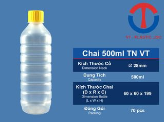 Chai 500ml TN VT