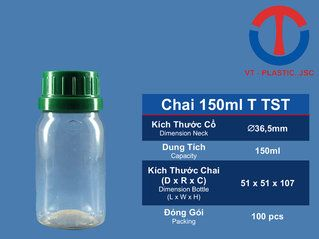 Chai 150ml T TST