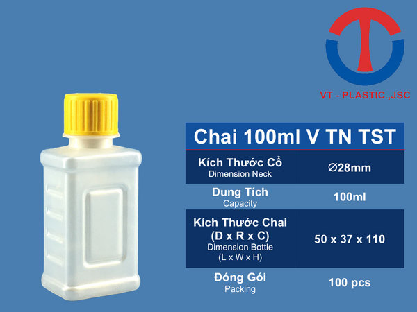 Chai 100ml V TN TST