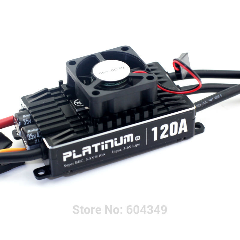 HOBBYWING PLATINUM 120A V4 BRUSHLESS ESC FOR RC MODEL