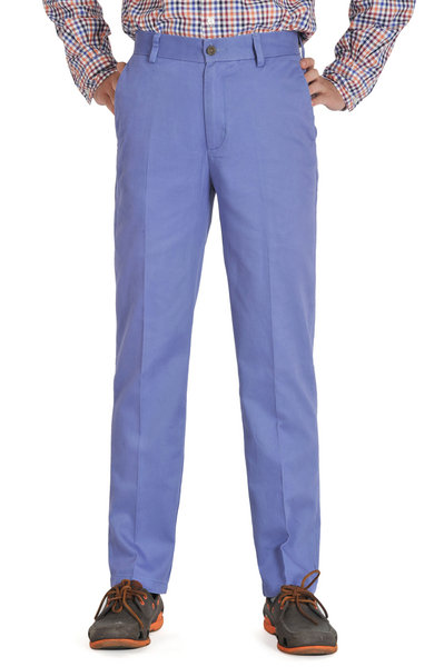 Persian Blue Slim Fit Chinos