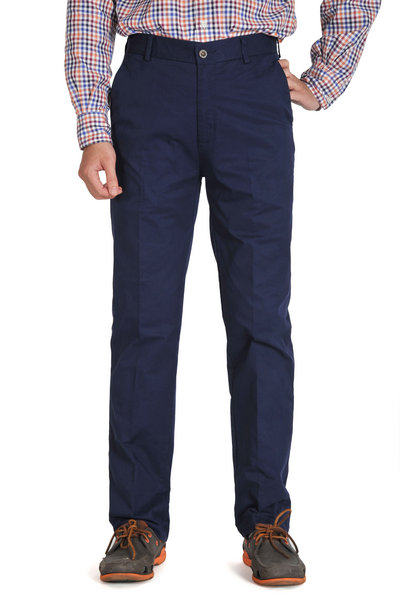 Midnight Blue Slim Fit Chinos