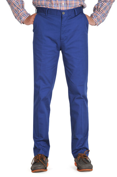 Ultramarine Slim Fit Chinos
