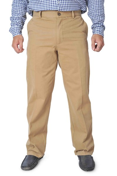 Taupe Classic Fit Chinos