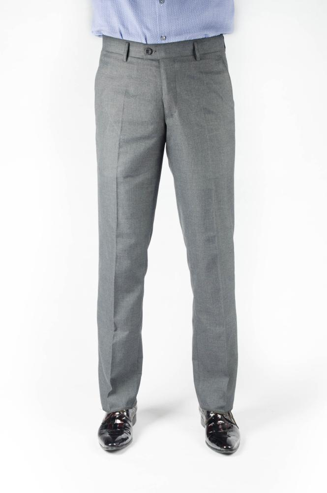 Dark Gray Regular Fit Trousers