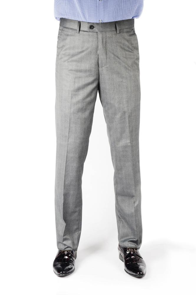 Dim Gray Regular Fit Trousers