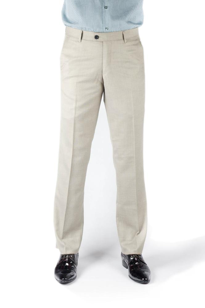 Light Gray Regular Fit Trousers