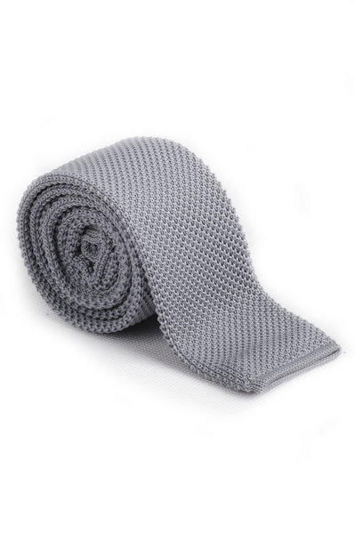 Fractal Knitted Tie